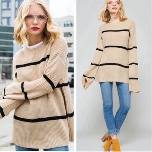 🆕 Oversized Wide Sleeved Sweater